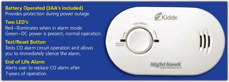 Kidde carbon monoxide alarm manual one beep