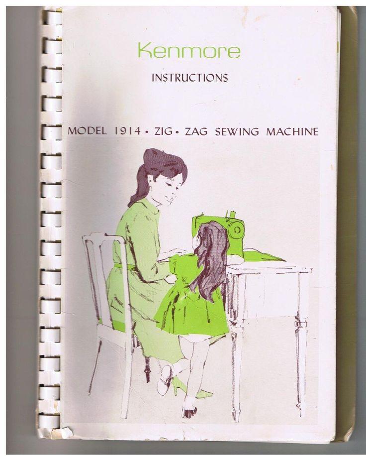 kenmore 158 manual de instruccion maquina de coser
