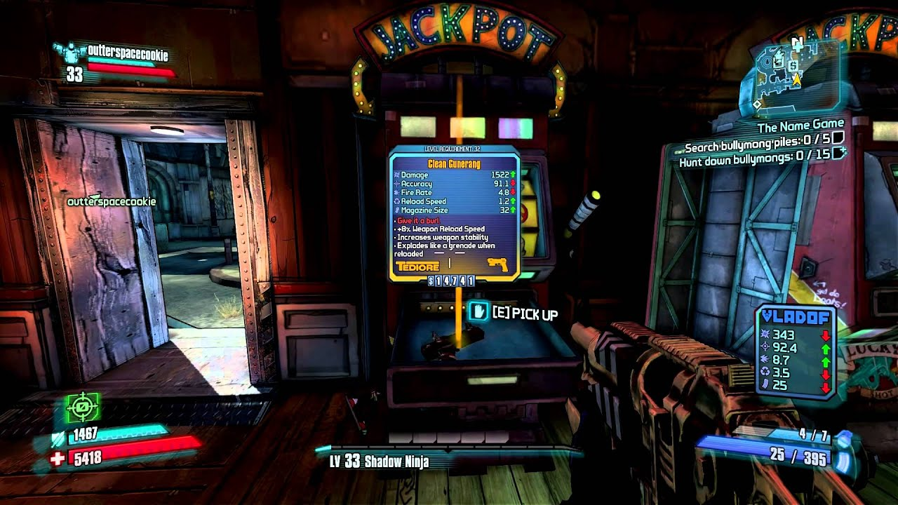 Borderlands 2 how to get seraph crystals in tvhm