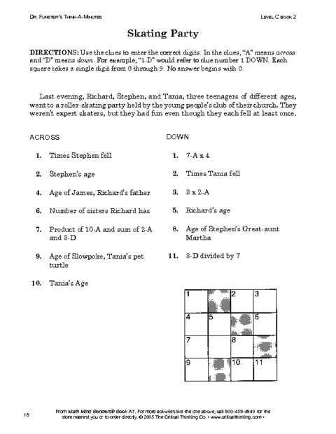 Critical and creative thinking activities pdf