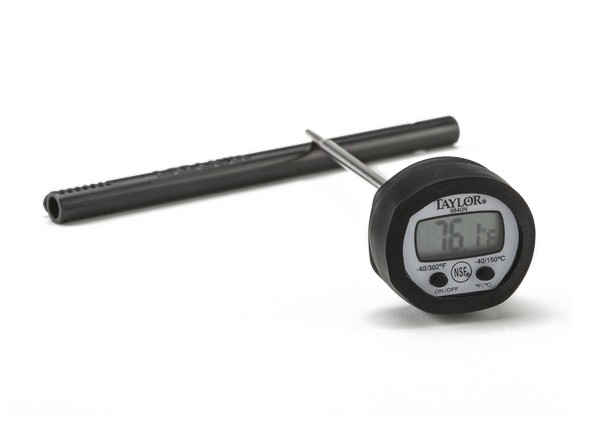 taylor digital meat thermometer instructions