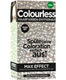 Colourless hair colour remover max effect instructions