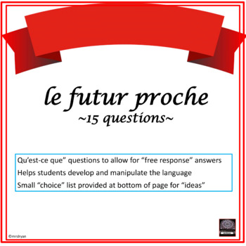 Futur simple french exercises pdf