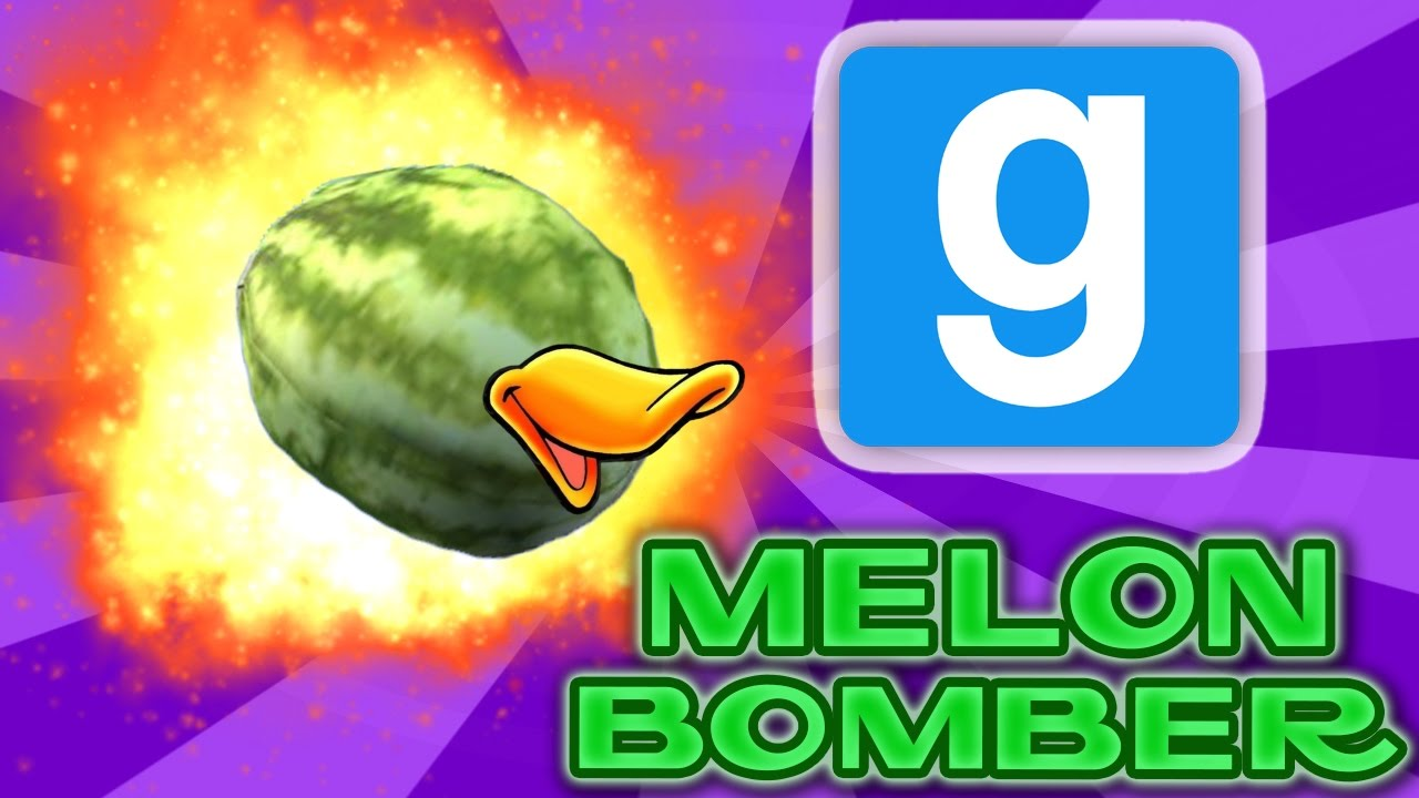 Gmod how to make a melon bomber server