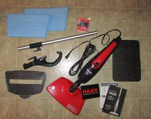 haan steam mop instructions