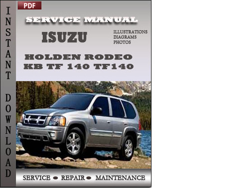 holden rodeo repair manual free download