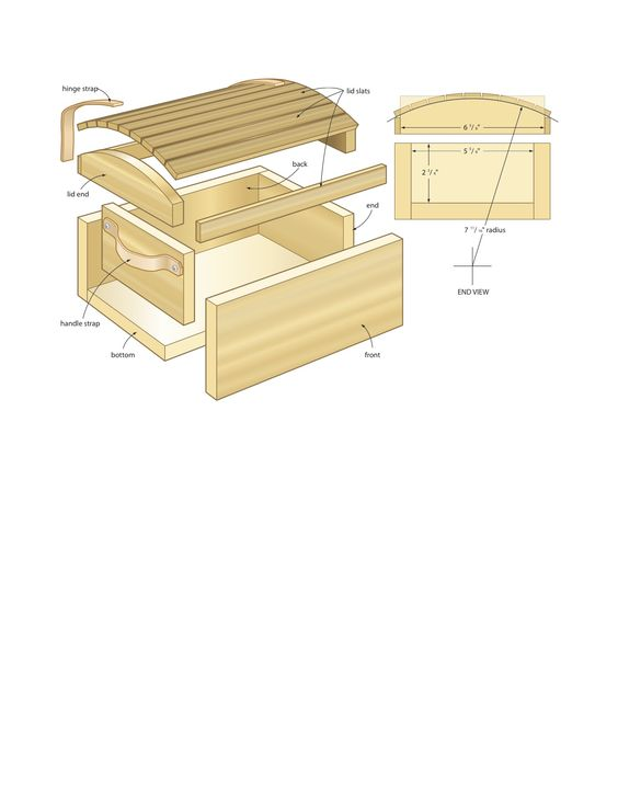 how to build a toy box instructions