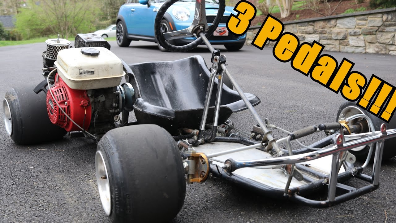 how to make a manual transmission go kart