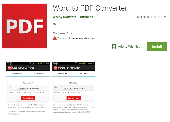 Image to pdf converter app