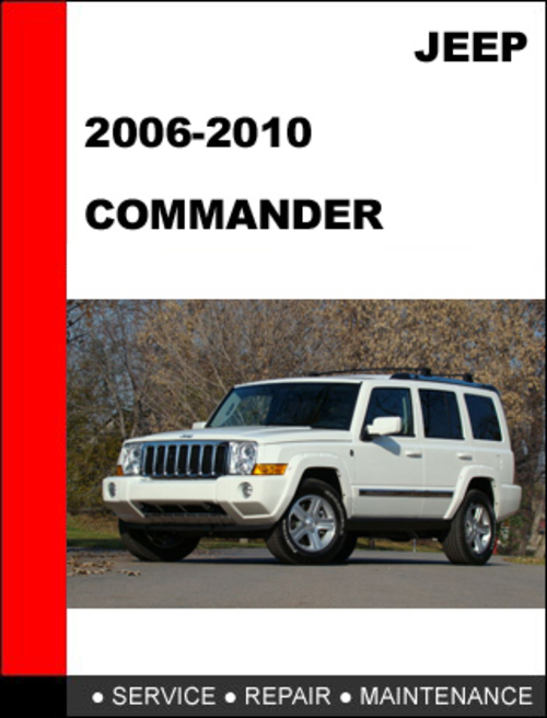 jeep commander factory service manual pdf