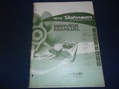 Johnson 115 hp outboard motor repair manual
