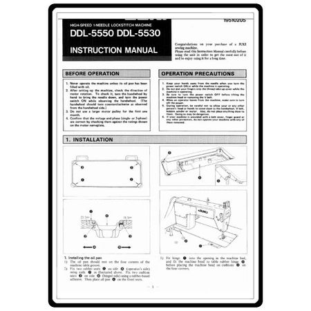 juki service manual free download