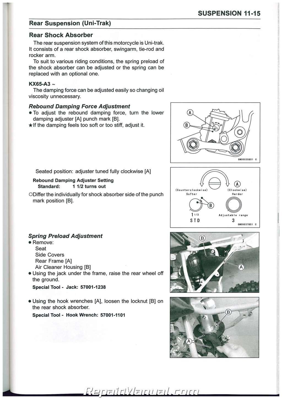 Kawasaki er6n 2015 service manual