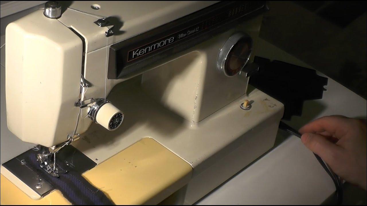 kenmore 12 stitch sewing machine manual free