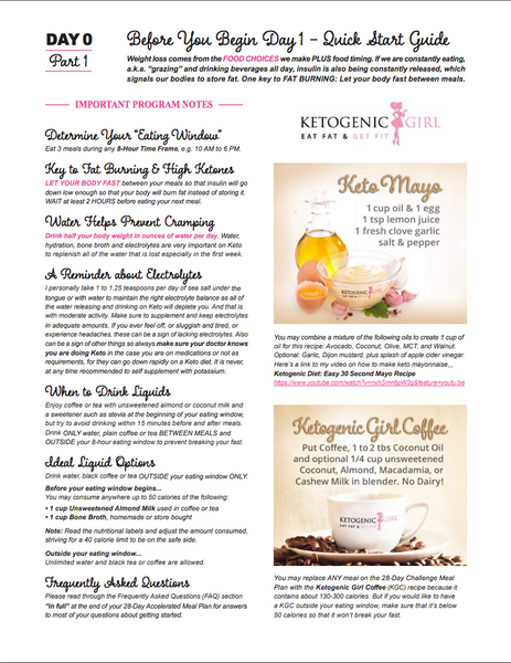 Ketogenic girl 28 day accelerated meal plan pdf