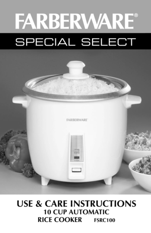 Kmart 10 cup rice cooker instructions