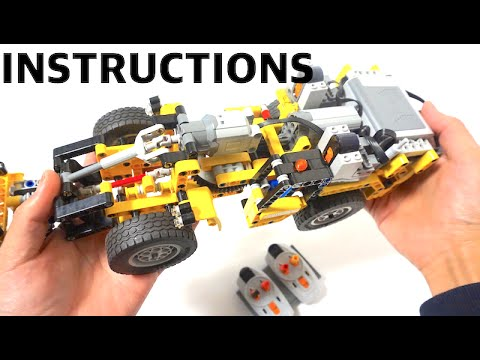 lego 42043 rc mod instructions