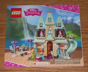 lego arendelle castle instructions