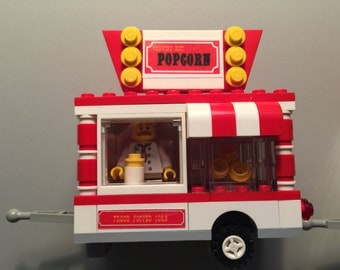 lego hot dog stand instructions