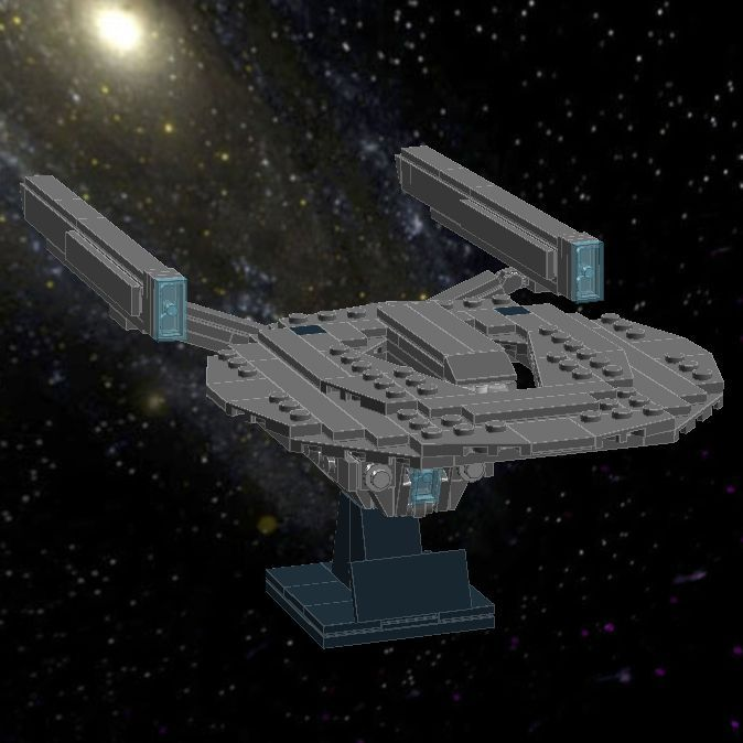 Lego star trek enterprise instructions