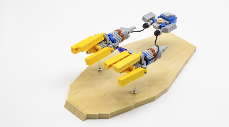 lego star wars pod racer instructions