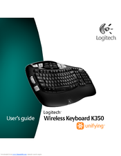 logitech create keyboard user manual