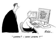 Manual drafting vs computer graphics