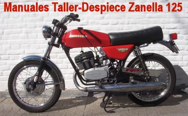 Manual motor zanella rb 200