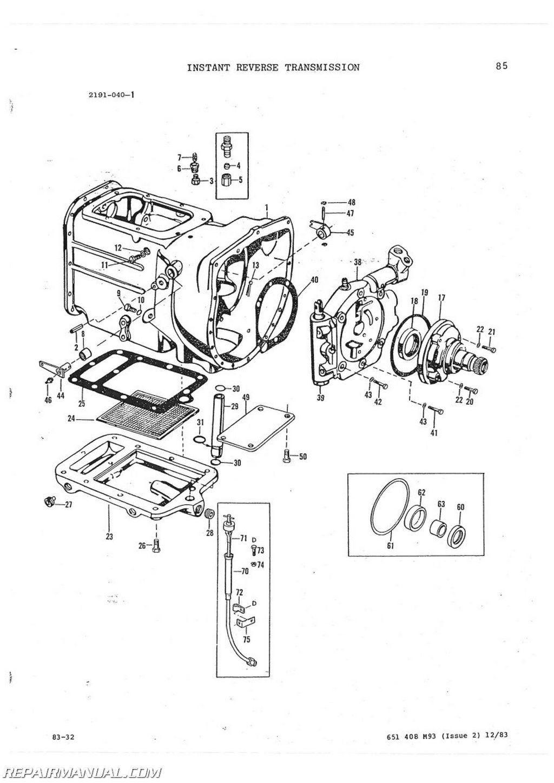 Massey ferguson 65 parts manual