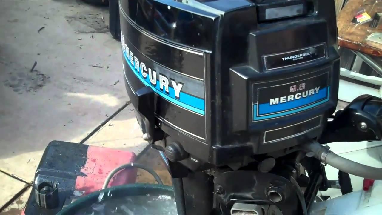 Mercury 110 9.8 manual