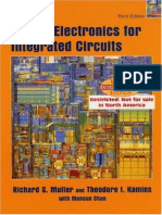 modern semiconductor devices for integrated circuits solution manual