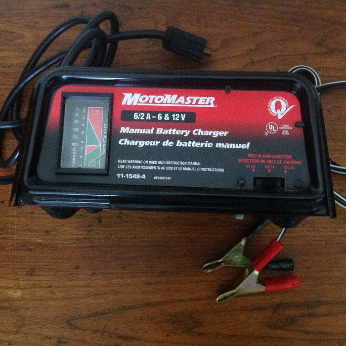 motomaster 1933 battery charger manual