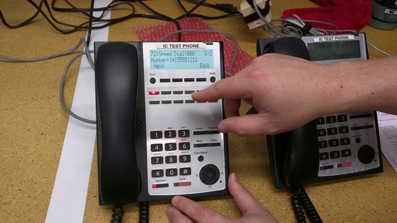 nec sl1100 phone system manual