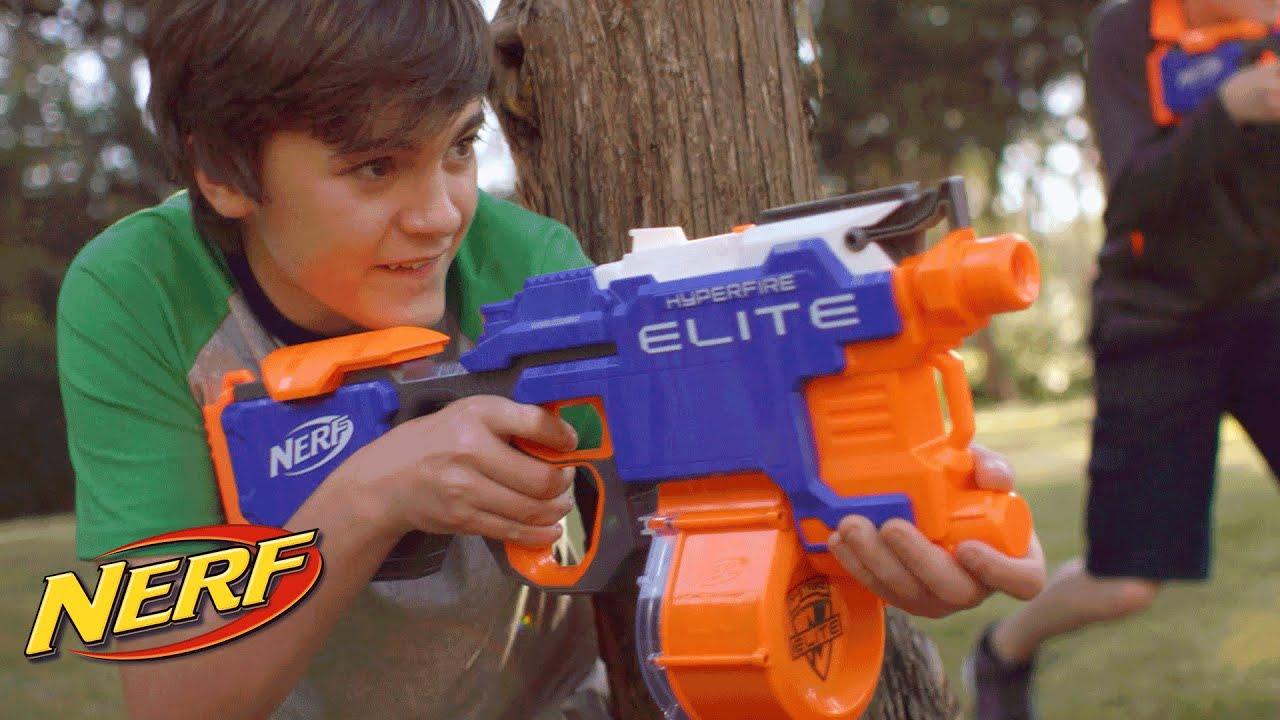 nerf n-strike elite hyperfire blaster instructions