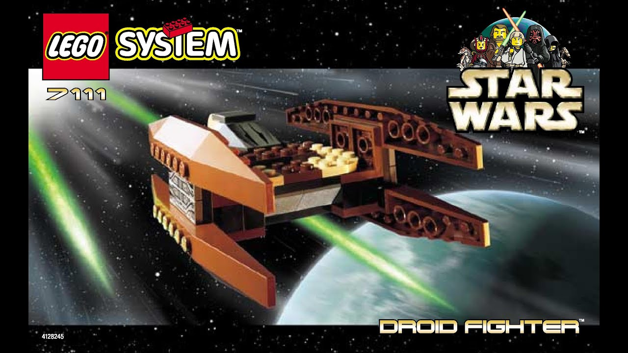 Old lego star wars sets instructions