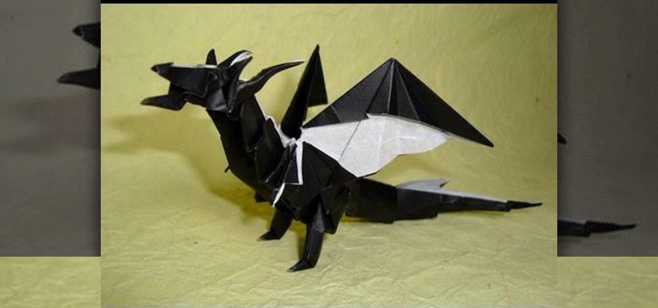 origami chinese dragon instructions advanced