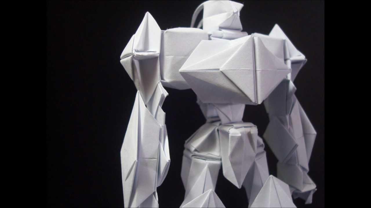 origami transformer robot instructions