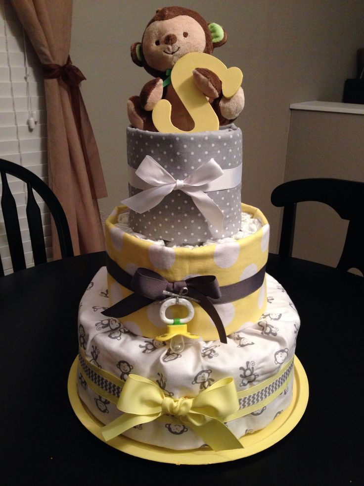 pampers diaper cake instructions