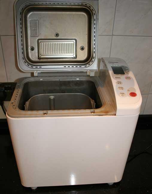 panasonic sd253 bread machine manual