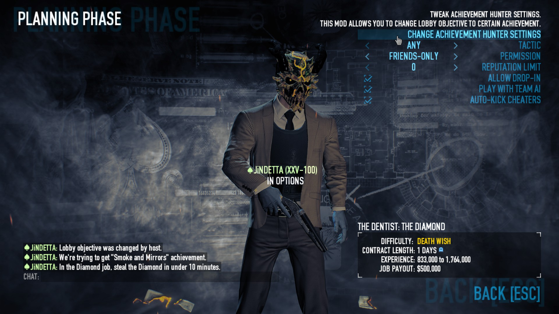 Payday 2 how to fix wolf hud swan song