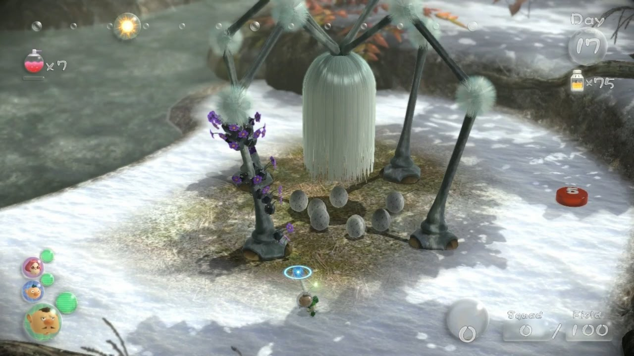 Pikmin 3 fruit guide distant tundra