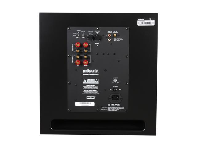 polk audio powered subwoofer manual