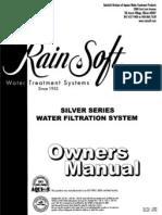 rainsoft silver series installation manual