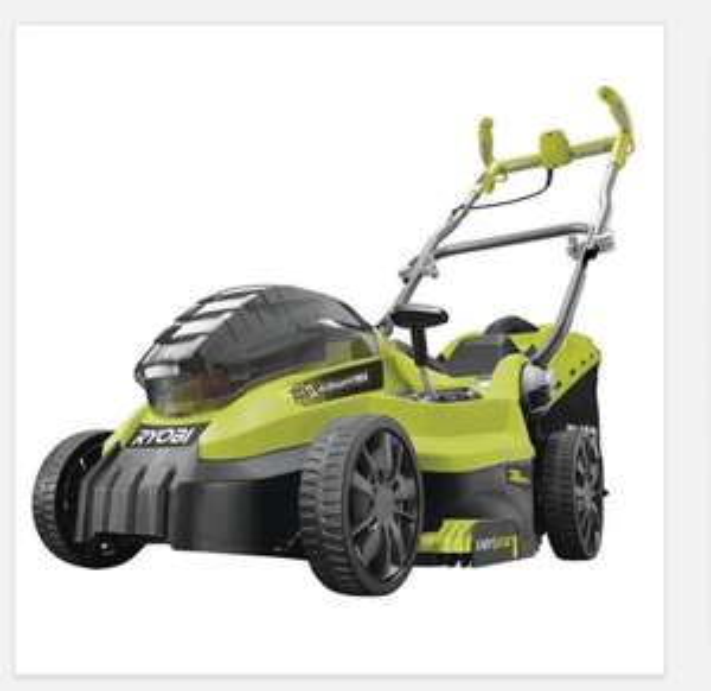 Ryobi cordless lawn mower manual