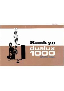 Sankyo dualux 1000 instruction manual