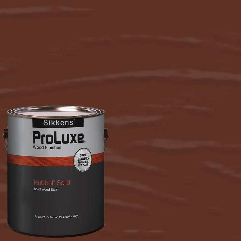 Sikkens rubbol solid stain application