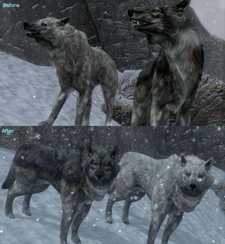 Skyrim how to get a husky as a vampire