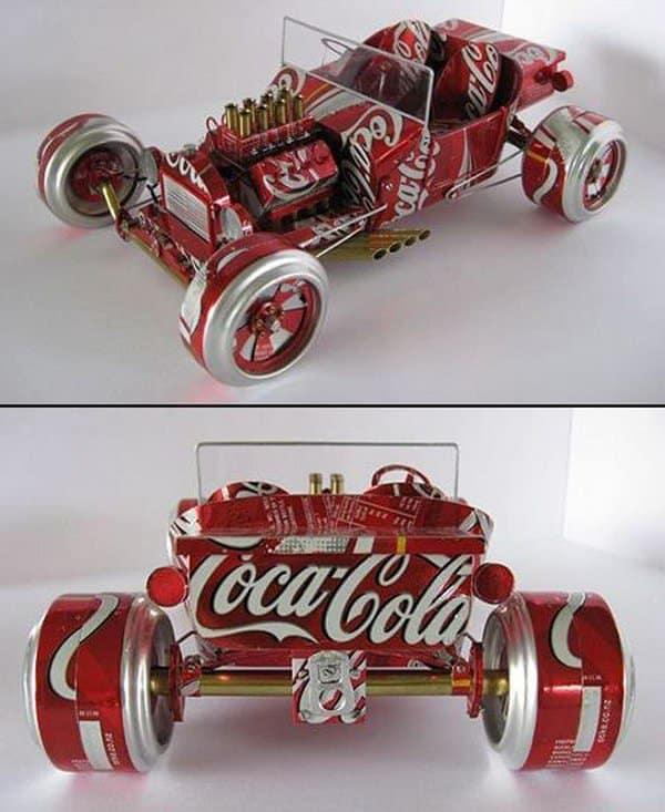 Soda can car instructions