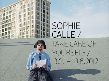 Sophie calle take care of yourself pdf