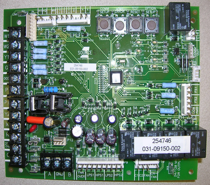 source 1 york control board manual
